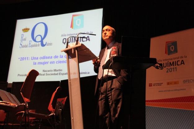 Conferencia inaugural en Logroño Año Internacional de la Química