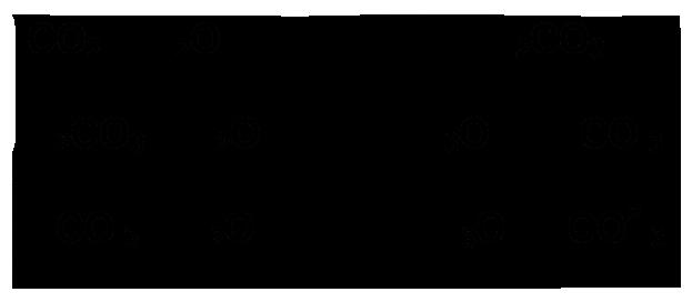 Reacciones de equilibrio ácido-base del ácido carbónico.